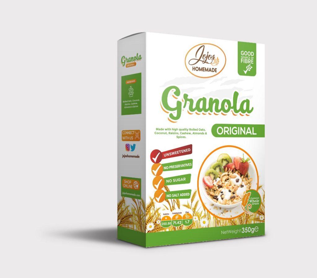 is homemade granola healthy