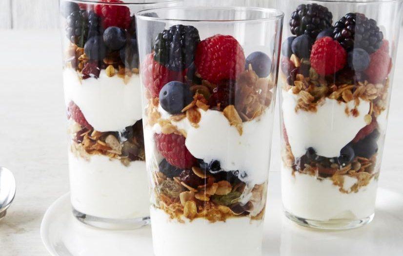 healthy yogurt and granola recipe