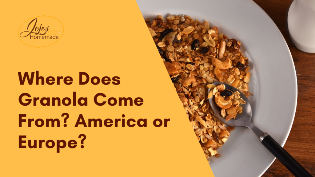 where does granola come from